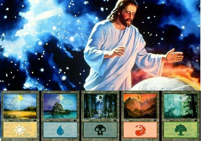 O que é Mana para Magic, Religião e filosofia