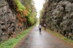 Visitar / Actividades - Quinta do Caminho - Actividade: Descida Ecopista em Bicicleta