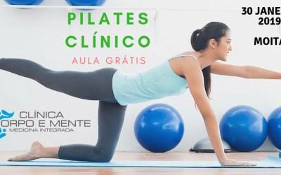 Aulas de Pilates Clínico na Moita