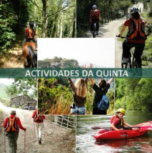 actividades da quinta quinta lamosa ecoturismo gondoriz arcos de valdevez