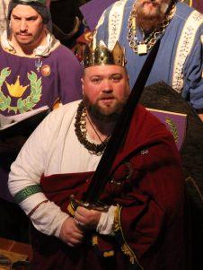 Duke Brennan and the sword of state