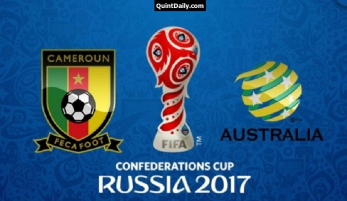Cameroon vs Australia 2017 FIFA Confederations Cup Match Prediction Results