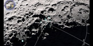 Frost on the Moon