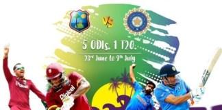 India vs West Indies 2017