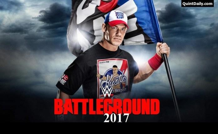 WWE Battleground 2017 Results
