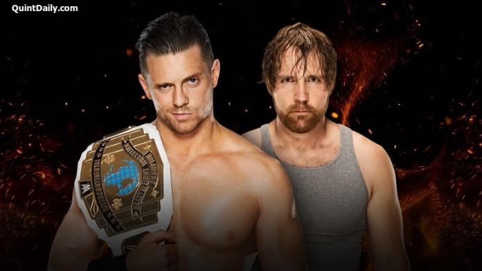 The Miz vs Dean Ambrose : WWE Great Balls of Fire Results