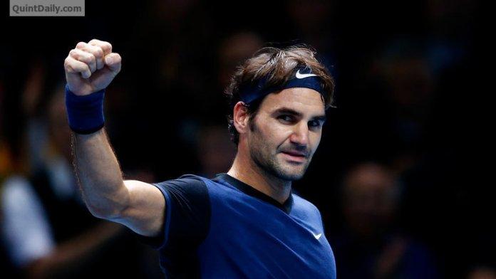 Roger Federer at Wimbledon semi-finals