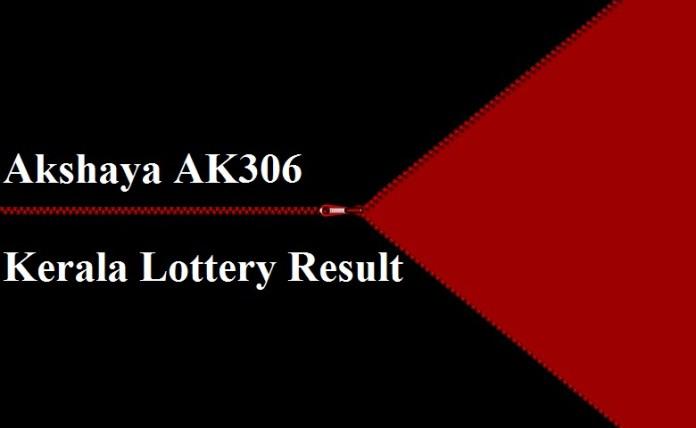 Akshaya AK306 Kerala Lottery Result 16-8-2017