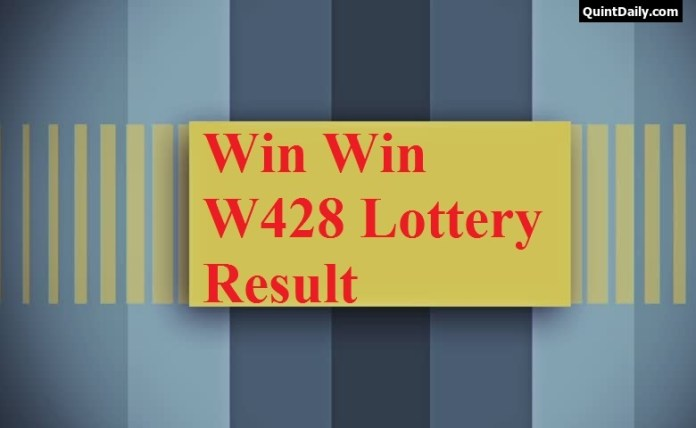 Win Win W428 Lottery Result