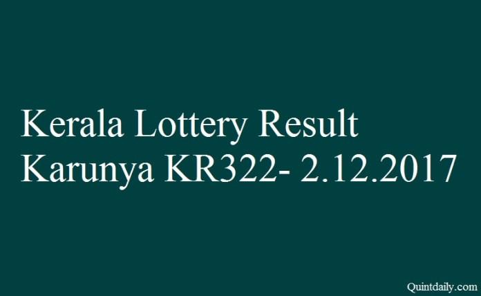 Karunya KR322
