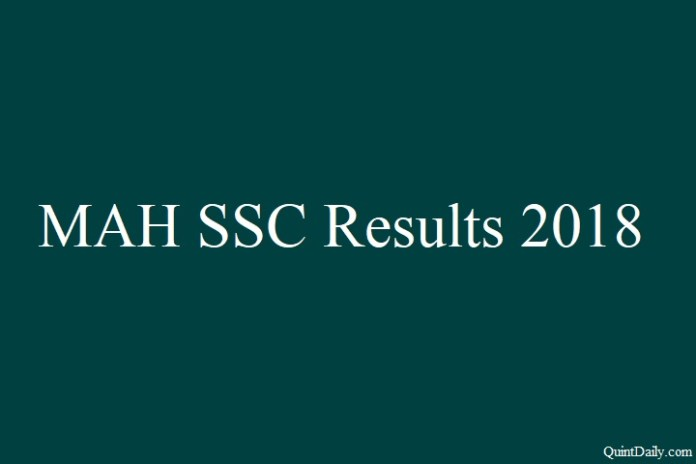 MAH SSC Results 2018