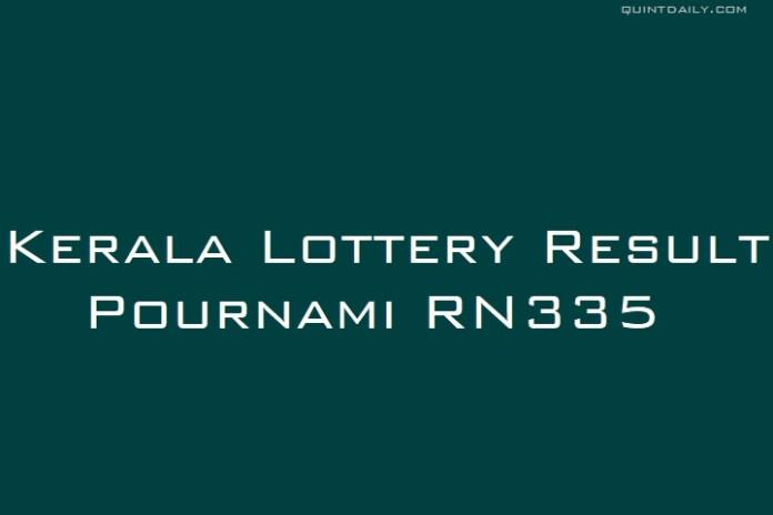 Pournami RN335