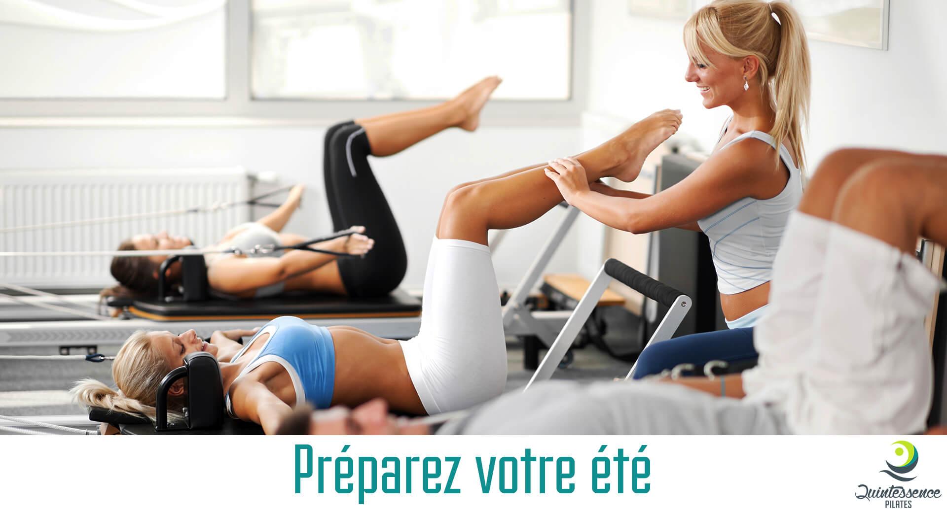 Préparez l'été avec la Méthode Pilates