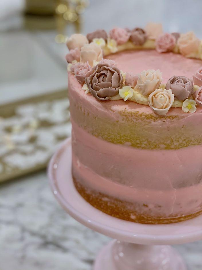 Preppy Kitchen Naked Cake via Quintessence