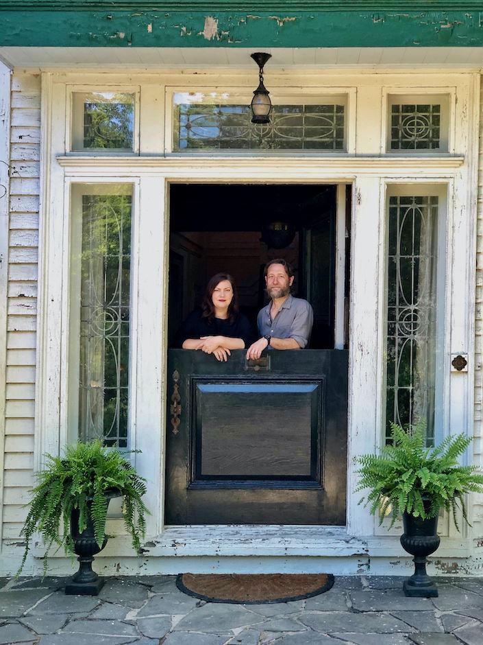 Susan and Will Brinson at Stony Ford via Quintessence