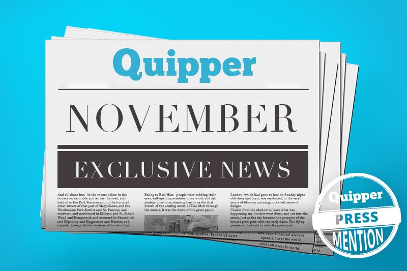 November Quipper Press Mention