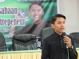 Kisah Presiden Mahasiswa Unimed yang Jadi Pengusaha Muda