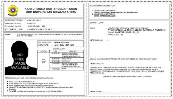 Ingin Masuk Universitas Sriwijaya Lewat Jalur USM?  Catat Informasi Pentingnya!
