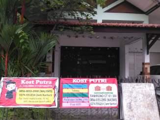 Tempat Tinggal di Sekitar Kampus Universitas Negeri Yogyakarta