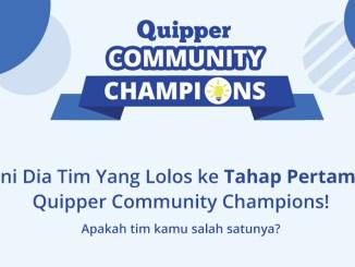 Ini Dia Tim Yang Lolos Ke Tahap Pertama Quipper Community Champions!