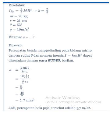 Dinamika Rotasi Fisika Kelas 11 Quipper Blog