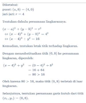 Contoh Soal Garis Singgung Lingkaran : contoh, garis, singgung, lingkaran, Garis, Singgung, Lingkaran, Matematika, Kelas, Quipper