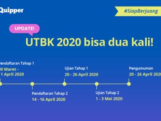 UTBK SBMPTN 2020 Update