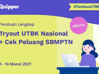 try out utbk nasional UTBK 2021