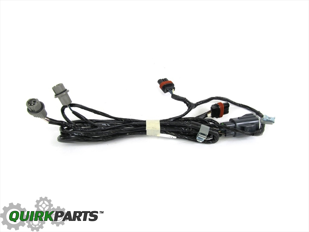 08 11 Dodge Challenger Front End Lighting Wiring Harness