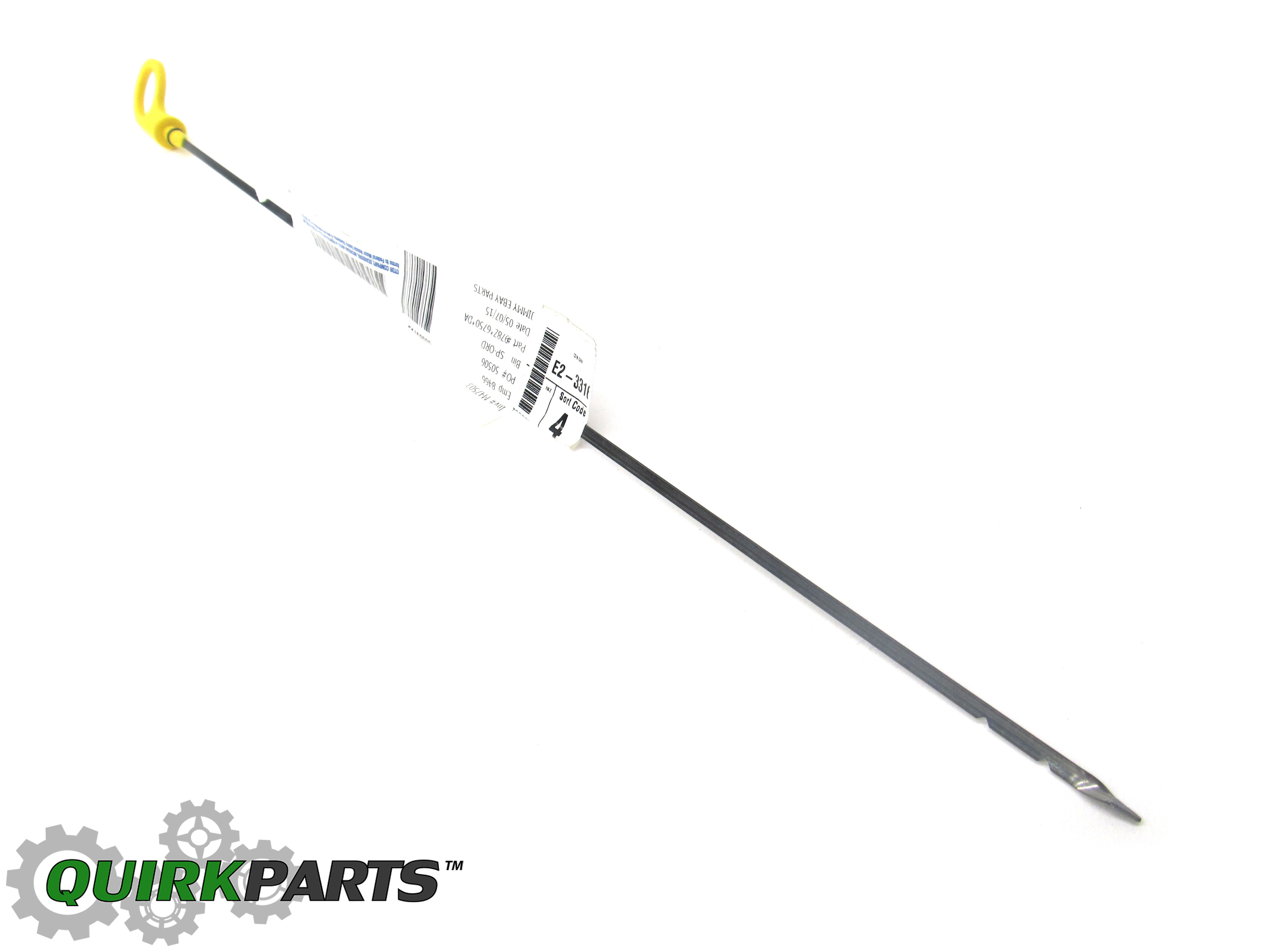 Ford Focus Svt 2 0l Engine Oil Level Dipstick