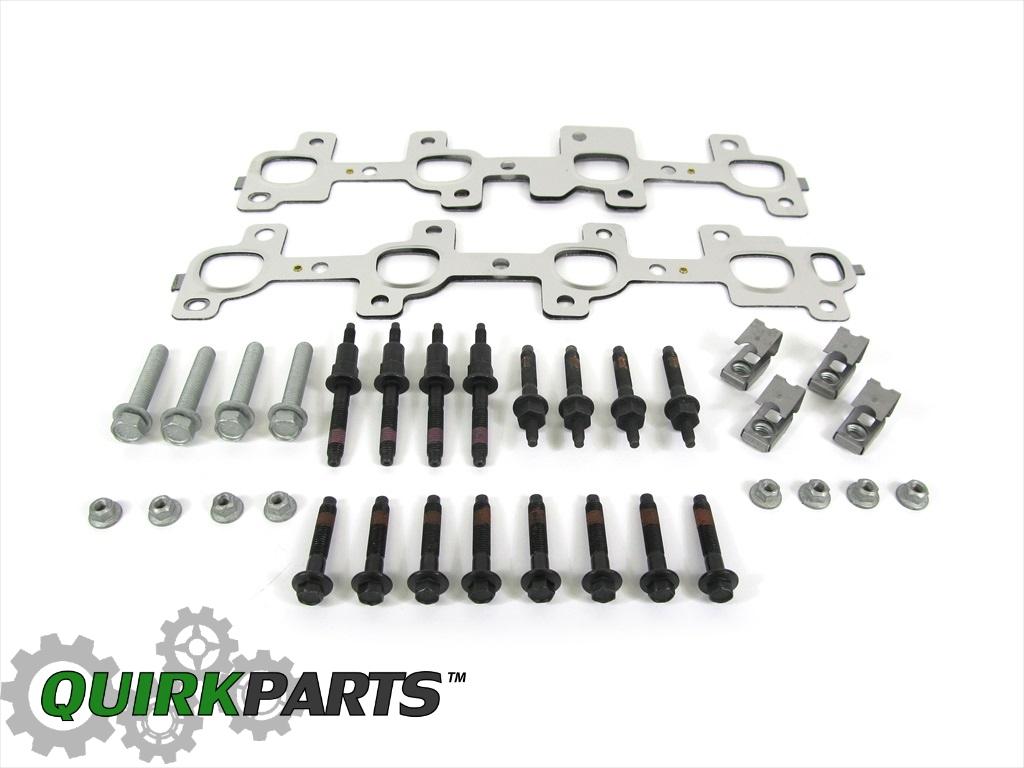 Dodge Ram Exhaust Manifold Kit Gasket Studs