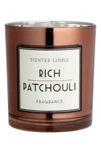 Copper patchouli candle