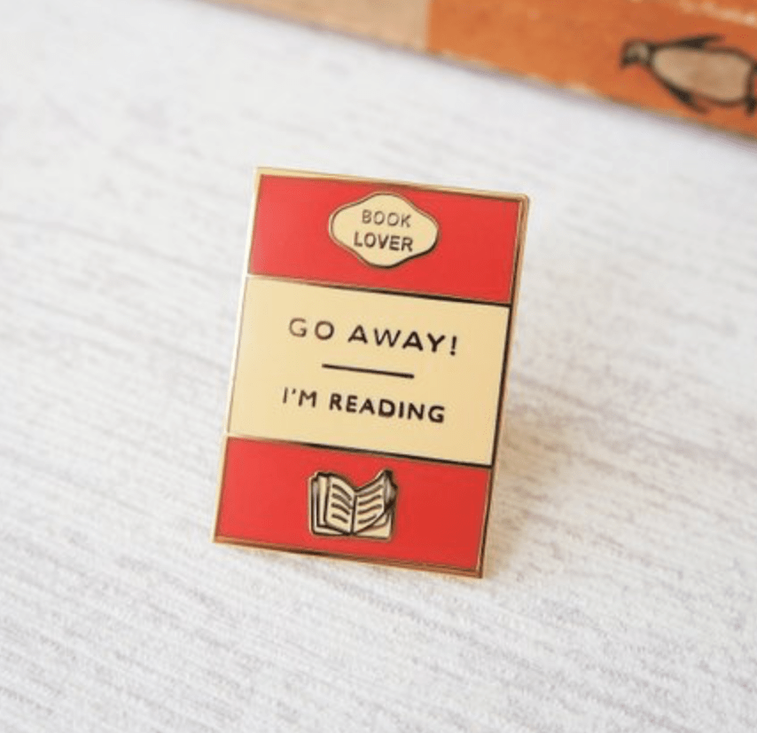 9 enamel pins for book lovers