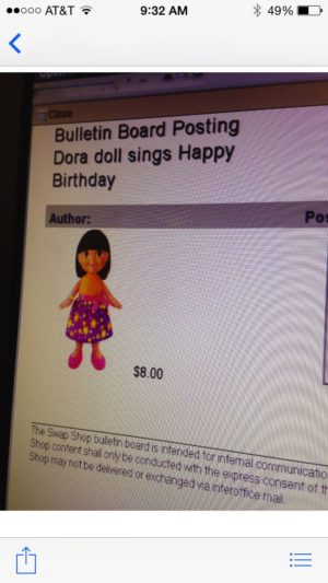 Is this a licensed Dora? I'm not sure!