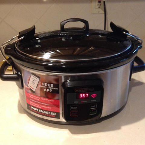 This is my new (for Christmas) programable crockpot. I love it!