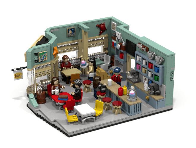 Vote for Gilmore Girls Lego set - Luke's Diner