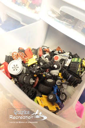 LEGO wheel drawer, LEGO organzation
