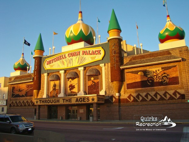 Corn Palace Mitchell, South Dakota road trip