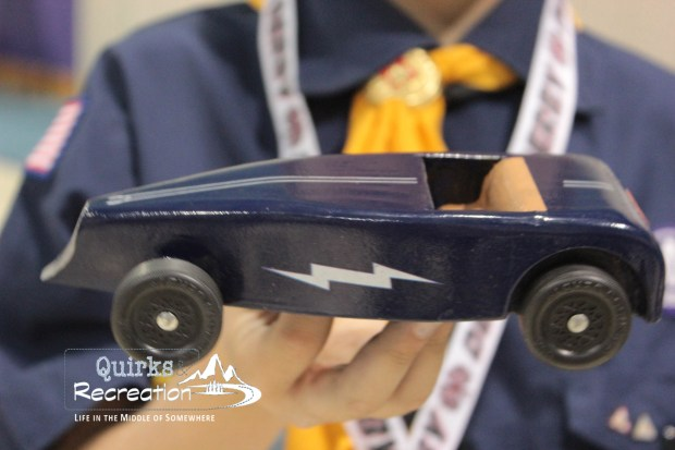 Roadster - Cub Scout Pinewood Derby Car