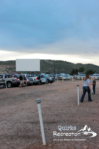 View of Holiday Twin Drive-in adjacent, second screen