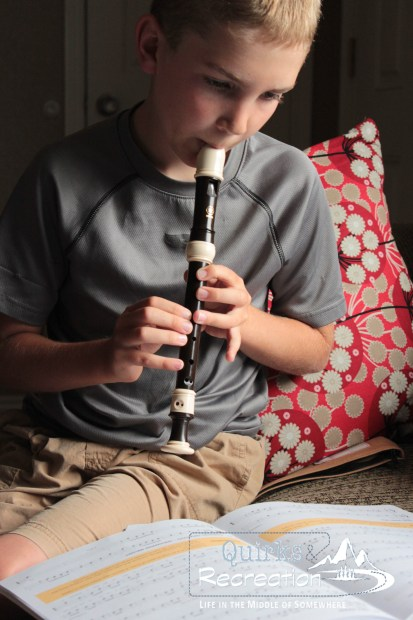 Recorder as the newest family band instrument