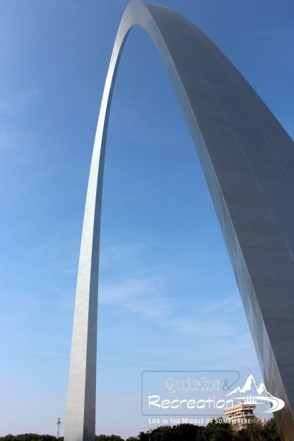 Full view of Gateway Arch
