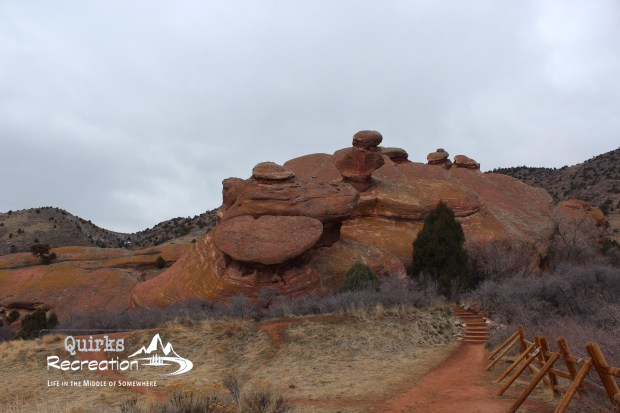 Landscape at Red Rocks Park in Denver