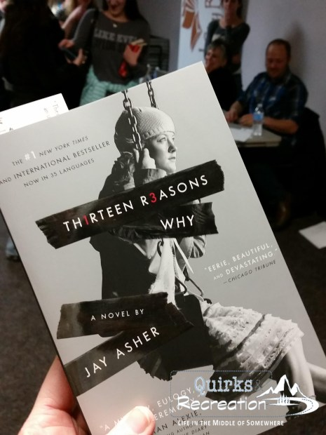 cover of Thirteen Reasons Why by Jay Asher