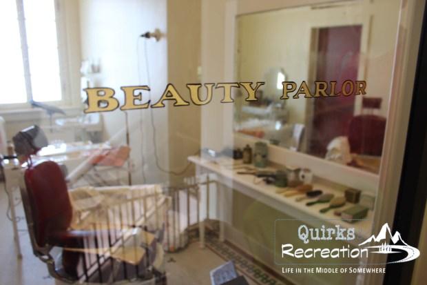 Fordyce Bathhouse beauty parlor - Hot Springs National Park