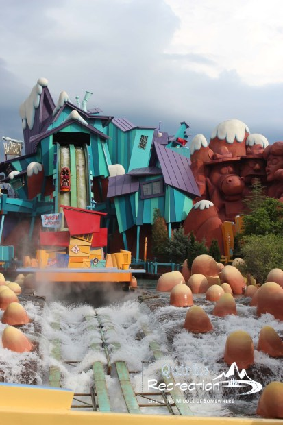 Dudley Do-Right's Ripsaw Falls ride - Islands of Adventure, Universal Orlando