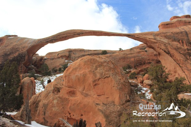 Massive arch in Arches National Park