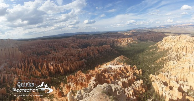 Panoramic view of Bryce Canyon National Park from Bryce Point