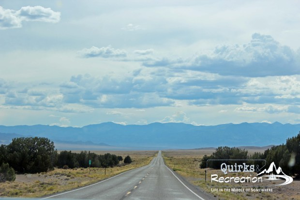 """The Loneliest Road in America"" US-50"
