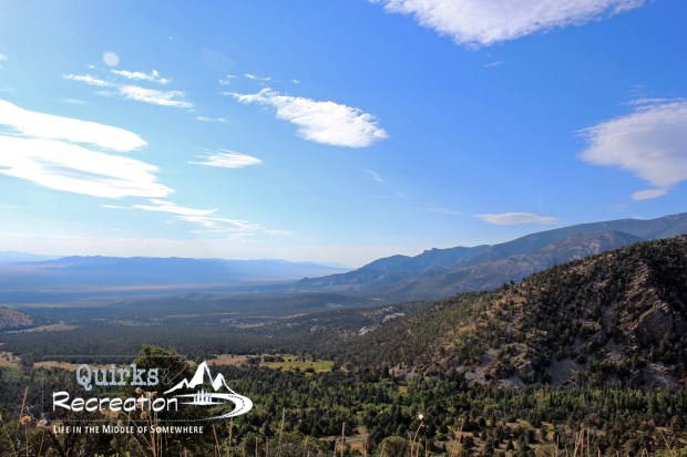 View of the basin from a Great Basin National Park lookout